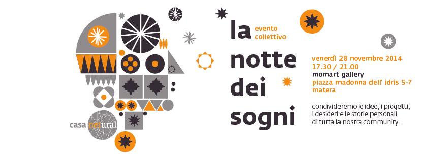 La notte dei sogni l 39 evento collettivo di casa netural for Costruttore di casa dei sogni online