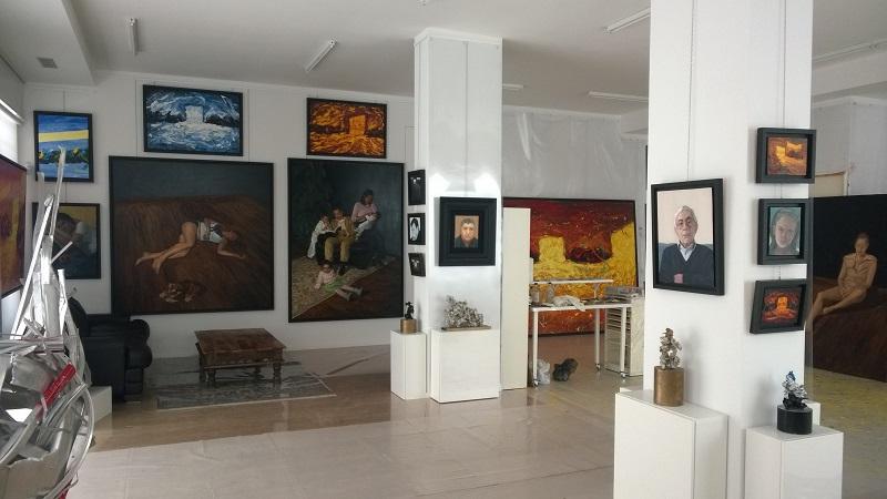 01) Foto dello studio di Mimmo Centonze