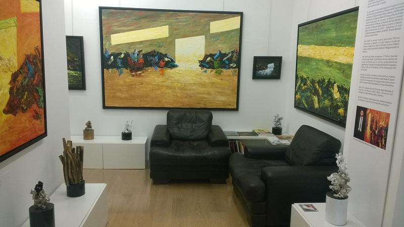 08) Foto dello studio di Mimmo Centonze