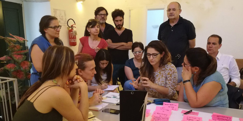casa netural al workshop di cocreazione matera 2019