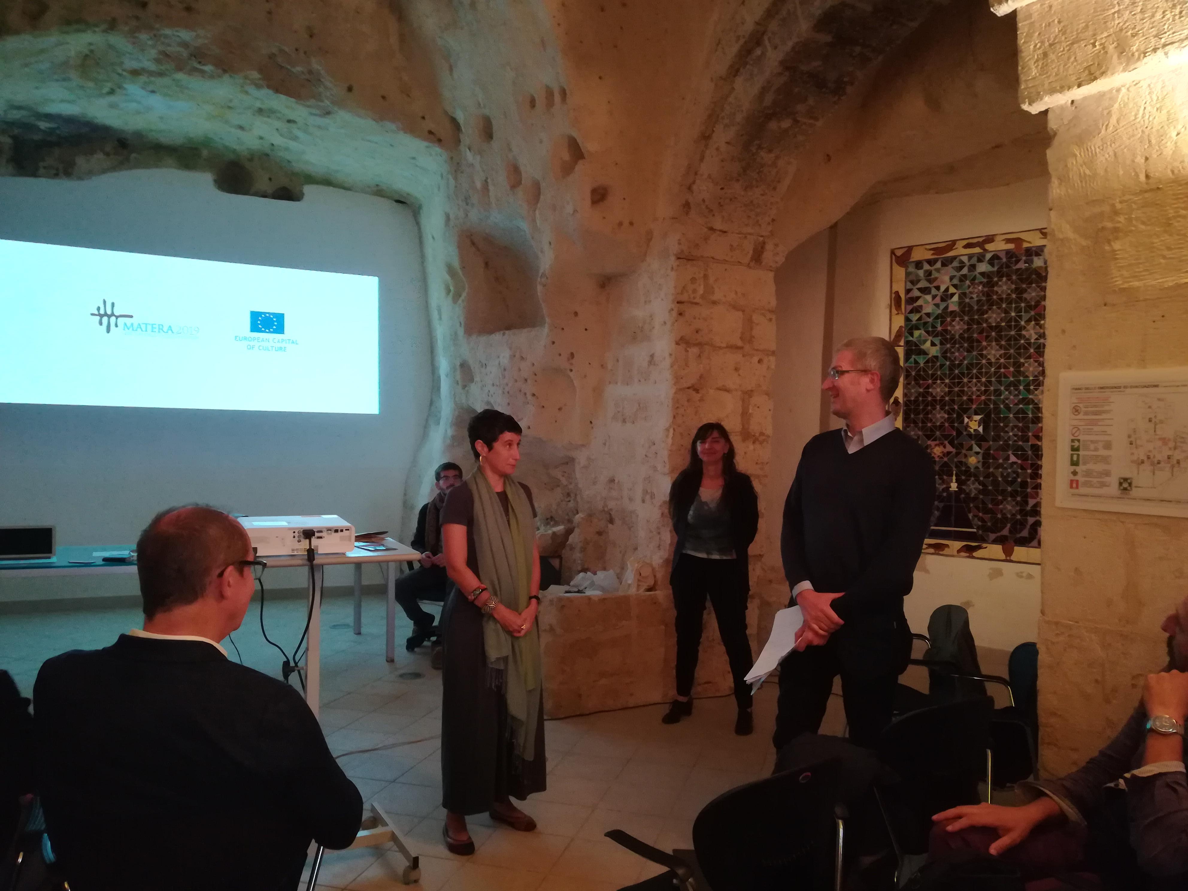 commissione europea a Matera