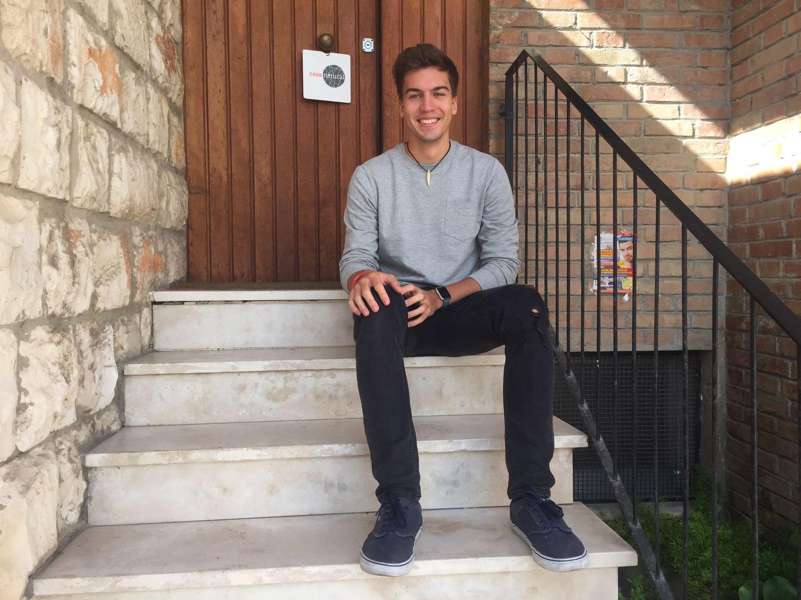 Philipp, volontario Europeo a Matera