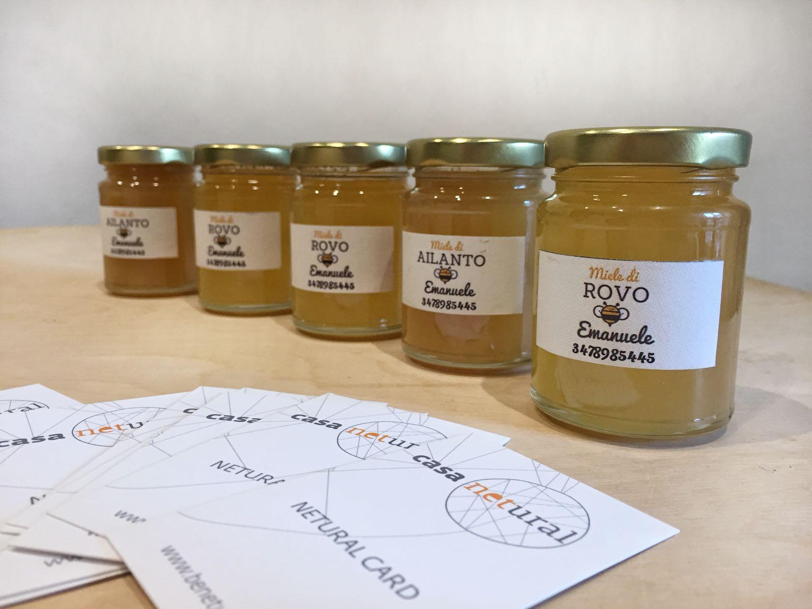 il miele di emanuele a casa netural