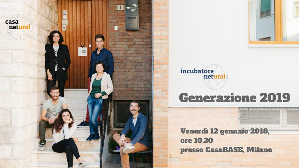 Generazione 2019 incubatore netural
