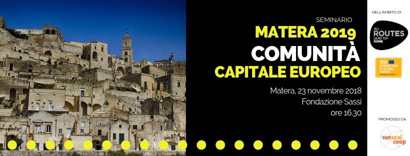 matera comunità capitale europeo, netural coop